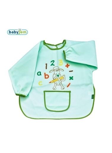 Baby Jem Babyjem 049 Faaliyet Önlügü Kollu Yeşil
